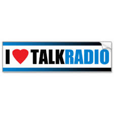 i love talk radio