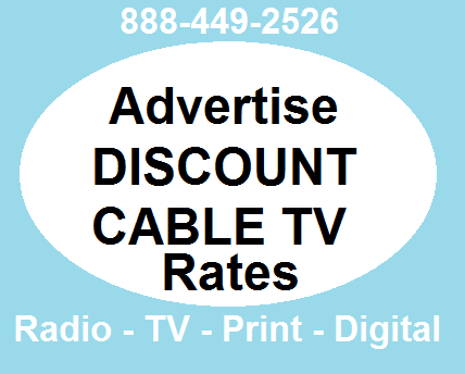discount ad rates cable network tv radio digital. Black Bedroom Furniture Sets. Home Design Ideas